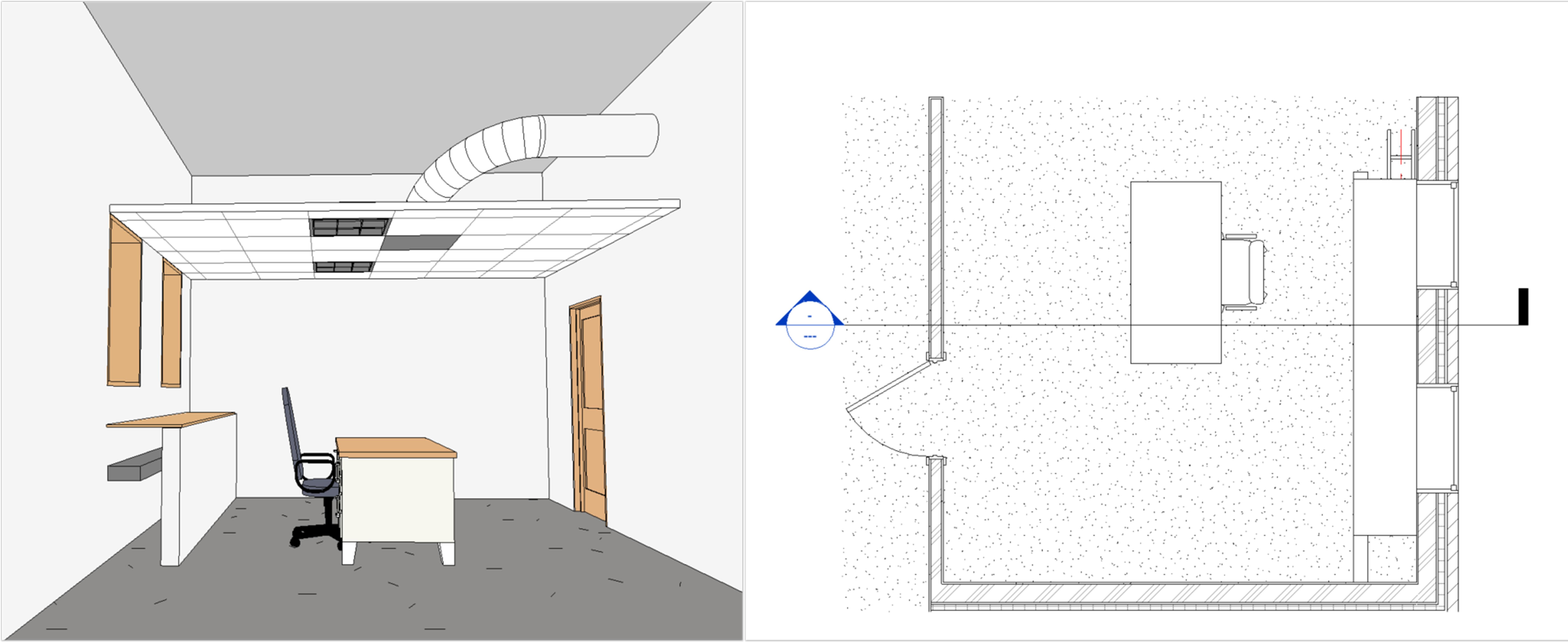 Dziedzina widoku Architektura 3D i rzut