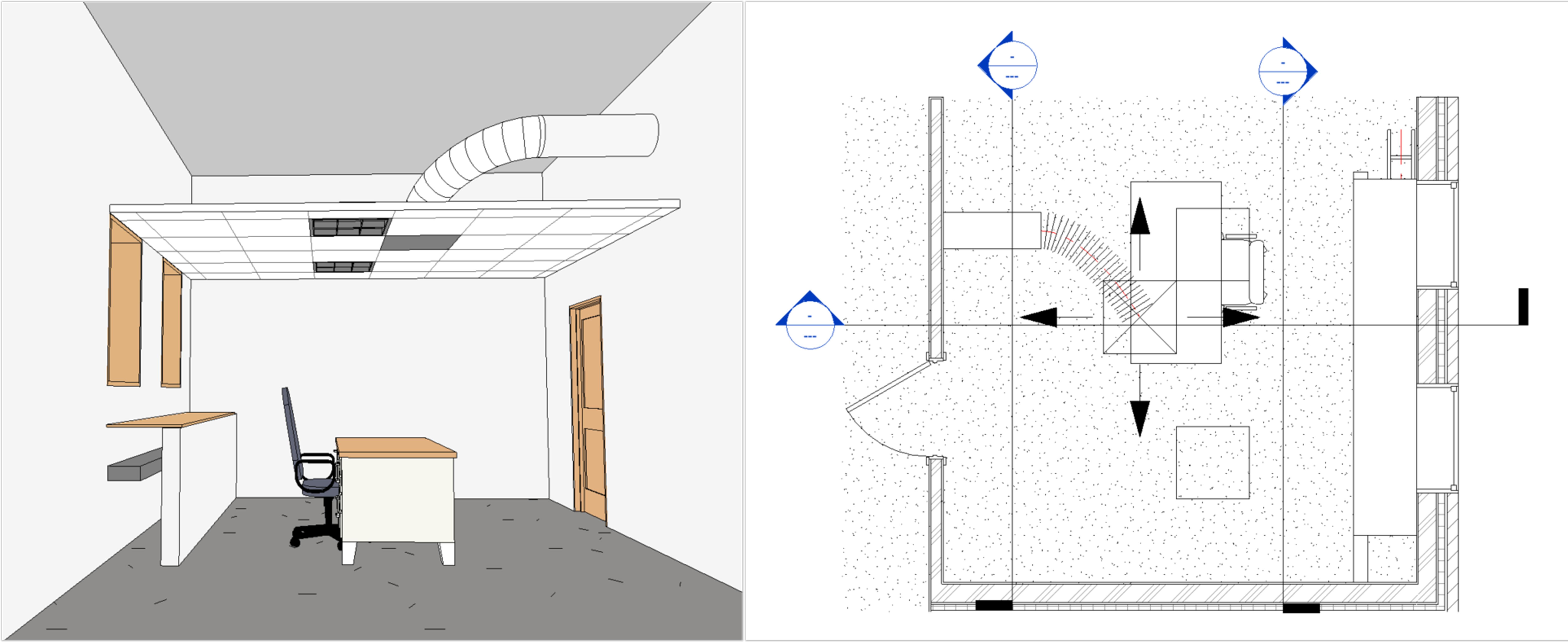 Dziedzina widoku Koordynacja 3D i rzut