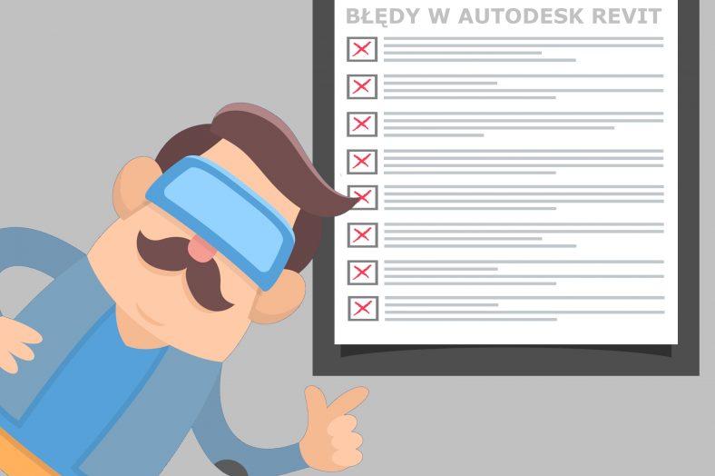 Błędy wAutodesk Revit #1