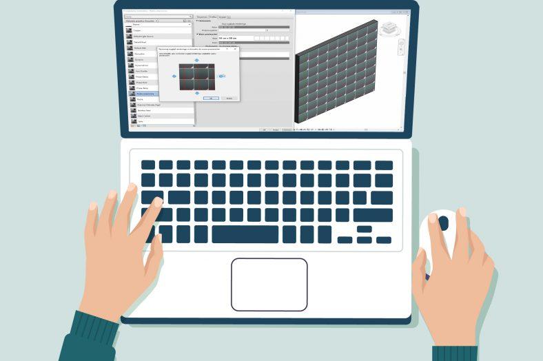 Modyfikacja tekstury wprogramie Autodesk Revit